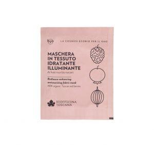 Biofficina Toscana Maschera In Tessuto Idratante-Illuminante