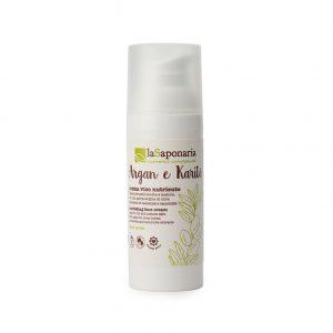La Saponaria Crema Viso Nutriente - Argan & Karitè