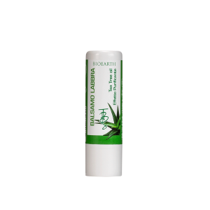 Bioearth Balsamo Labbra Aloe e Tea Tree