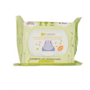 La Saponaria Salviette Detergenti Delicate Baby