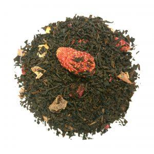 Tè Nero Fragola Lampone Bio
