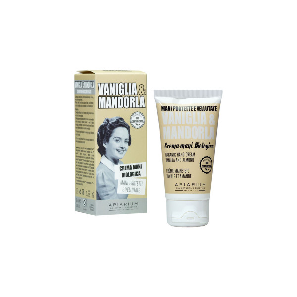 Apiarium Crema Mani Bio Vaniglia & Mandorla